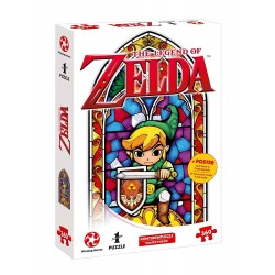 PUZZLE ZELDA HERO OF HYRULE 360 PIECES - Puzzles au prix de 11,95 €