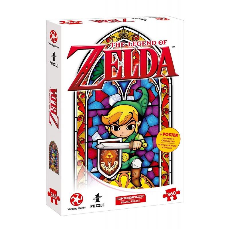 PUZZLE ZELDA HERO OF HYRULE 360 PIECES - Puzzles au prix de 11,95€