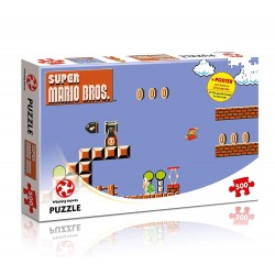 PUZZLE SUPER MARIO BROS HIGHT JUMPER 500 PIECES - Puzzles au prix de 11,95 €