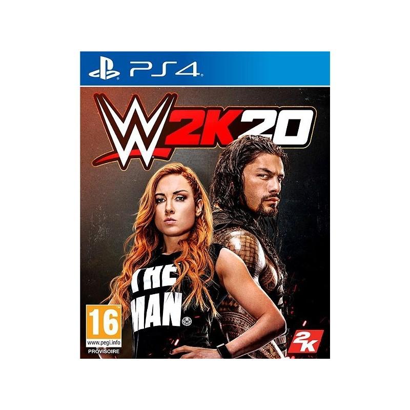 PS4 W2K20 - Jeux PS4 au prix de 54,95€