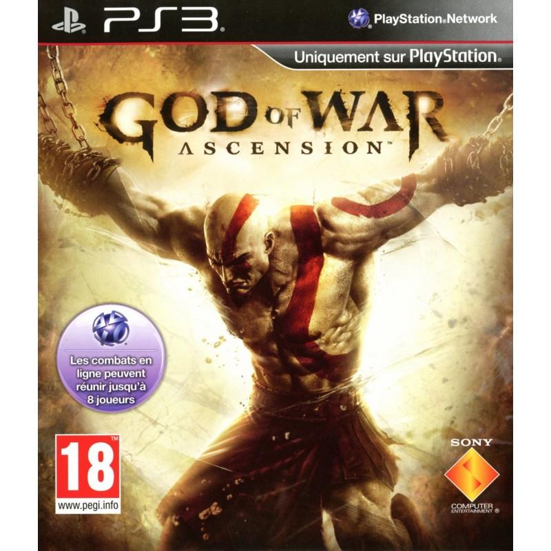 PS3 GOD OF WAR ASCENSION - Jeux PS3 au prix de 6,95€