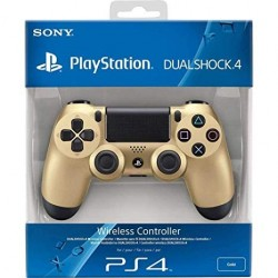 MANETTE DUALSHOCK PS4 GOLD - Accessoires PS4 au prix de 64,95€