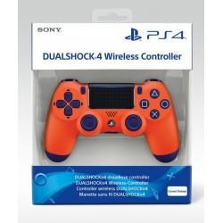 MANETTE DUALSHOCK PS4 SUNSET ORANGE - Accessoires PS4 au prix de 64,95€