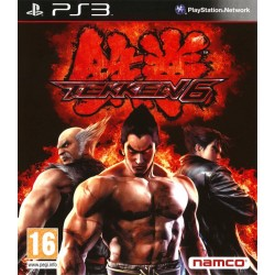 PS3 TEKKEN 6 - Jeux PS3 au prix de 9,95€