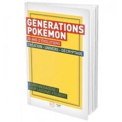GENERATION POKEMON 20ANS - Librairie Gaming au prix de 19,90€
