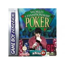 GA WORLD CHAMPIONSHIP POKER (SANS NOTICE) - Jeux Game Boy Advance au prix de 1,95€