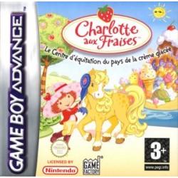 GA CHARLOTTE AUX FRAISES LE CENTRE D EQUITATION DU PAYS DE LA CREME GLACEE - Jeux Game Boy Advance au prix de 4,95€