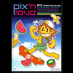 MAGAZINE PIX N LOVE N12 ADVENTURE ISLAND - Librairie Gaming au prix de 9,00€