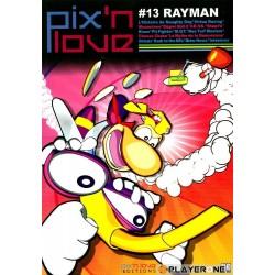 MAGAZINE PIX N LOVE N13 RAYMAN - Librairie Gaming au prix de 9,00€