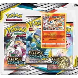 BLISTER POKEMON 3 BOOSTERS ECLIPSE COSMIQUE - Cartes à collectionner ou jouer au prix de 14,95 €