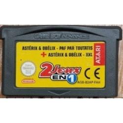 GA 2 JEUX EN 1 : ASTERIX PAF PAR TOUTATISASTERIX XXL (LOOSE) - Jeux Game Boy Advance au prix de 4,95€