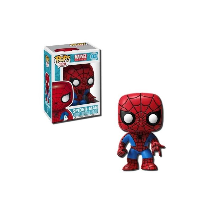 POP MARVEL 03 SPIDERMAN - Figurines POP au prix de 14,95€