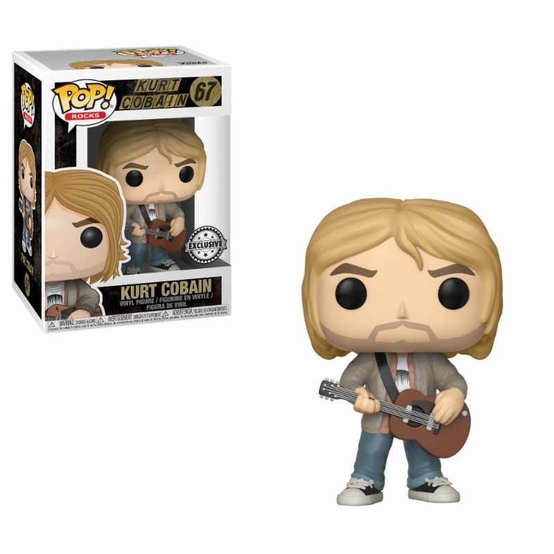 POP NIRVANA 67 KURT COBAIN MTV UNPLUGGED EXCLUSIVE - Figurines POP au prix de 14,95 €