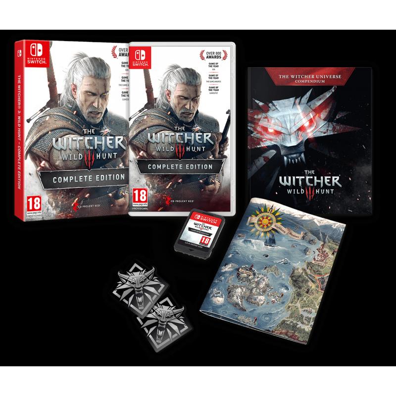 SWITCH THE WITCHER 3 WILD HUNT COMPLETE EDITION - Jeux Switch au prix de 54,95€