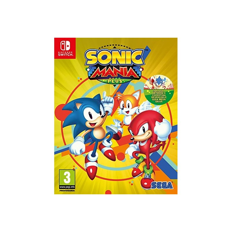SWITCH SONIC MANIA PLUS - Jeux Switch au prix de 29,95€