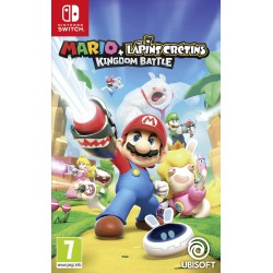 SWITCH MARIO ET RABBIDS KINGDOM BATTLE OCC - Jeux Switch au prix de 19,95 €
