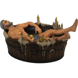 FIGURINE THE WITCHER 3 GERALT IN THE BATH 20 CM - Figurines au prix de 79,95 €