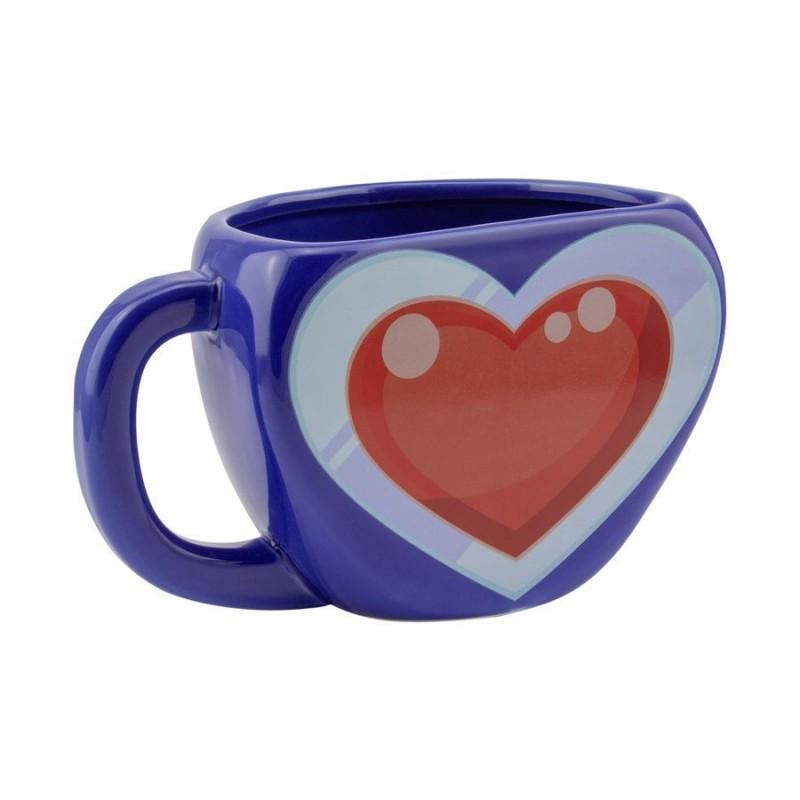 MUG ZELDA SHAPED HEART CONTAINER 300ML - Mugs au prix de 14,95€