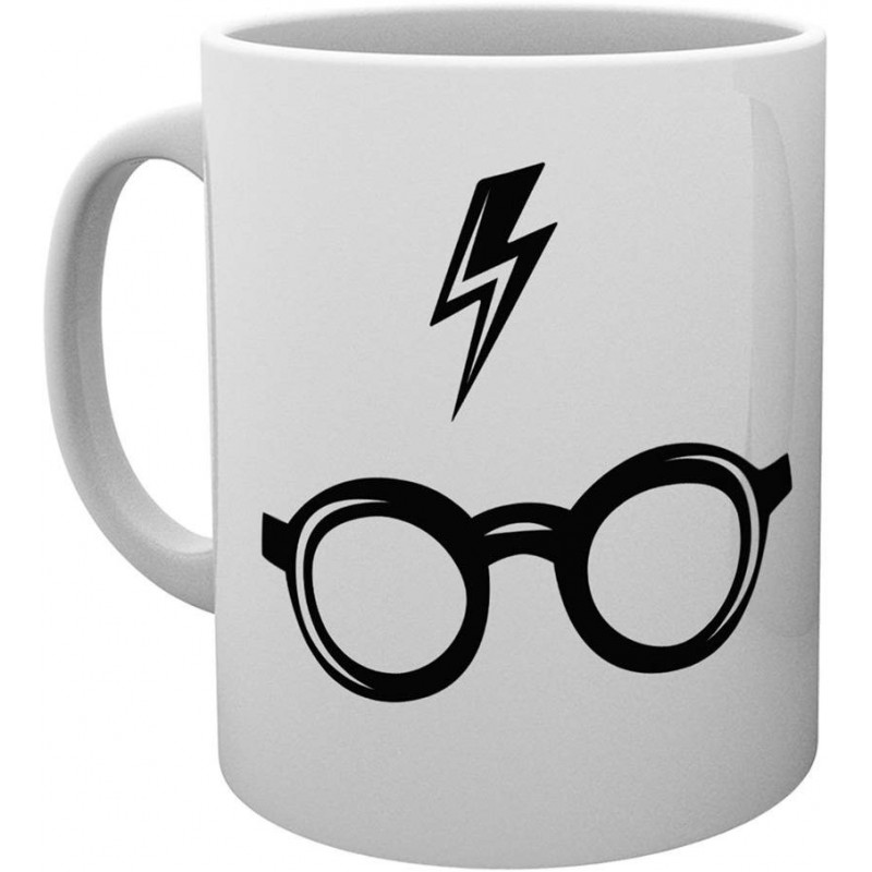 MUG HARRY POTTER GLASSES 315ML - Mugs au prix de 9,95 €