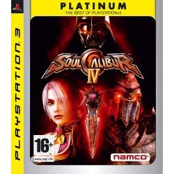 PS3 SOULCALIBUR 4 PLATINUM - Jeux PS3 au prix de 7,95€