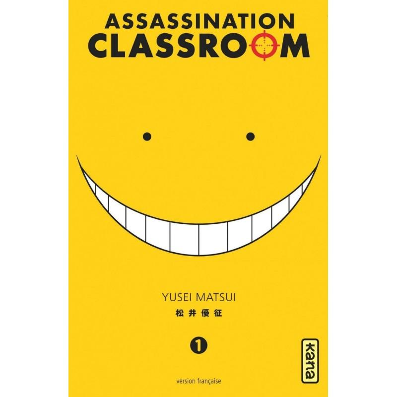 ASSASSINATION CLASSROOM T01 - Manga au prix de 6,85€