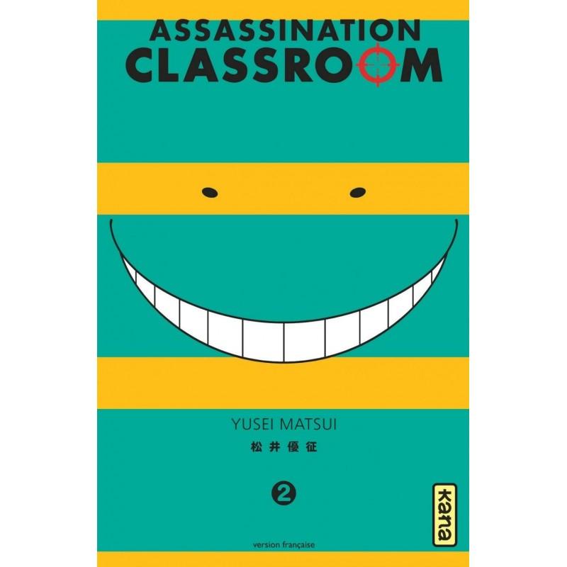 ASSASSINATION CLASSROOM T02 - Manga au prix de 6,85€