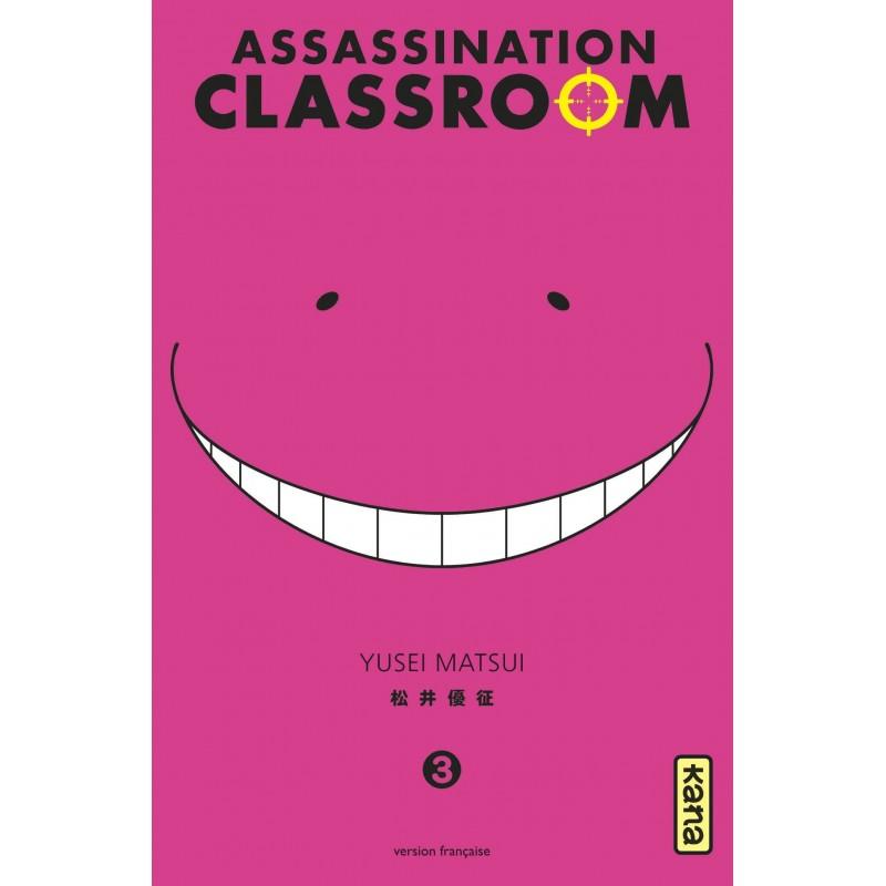 ASSASSINATION CLASSROOM T03 - Manga au prix de 6,85€