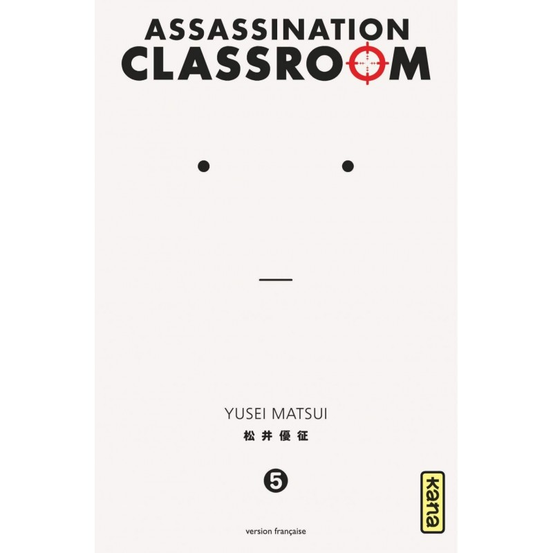 ASSASSINATION CLASSROOM T05 - Manga au prix de 6,85 €