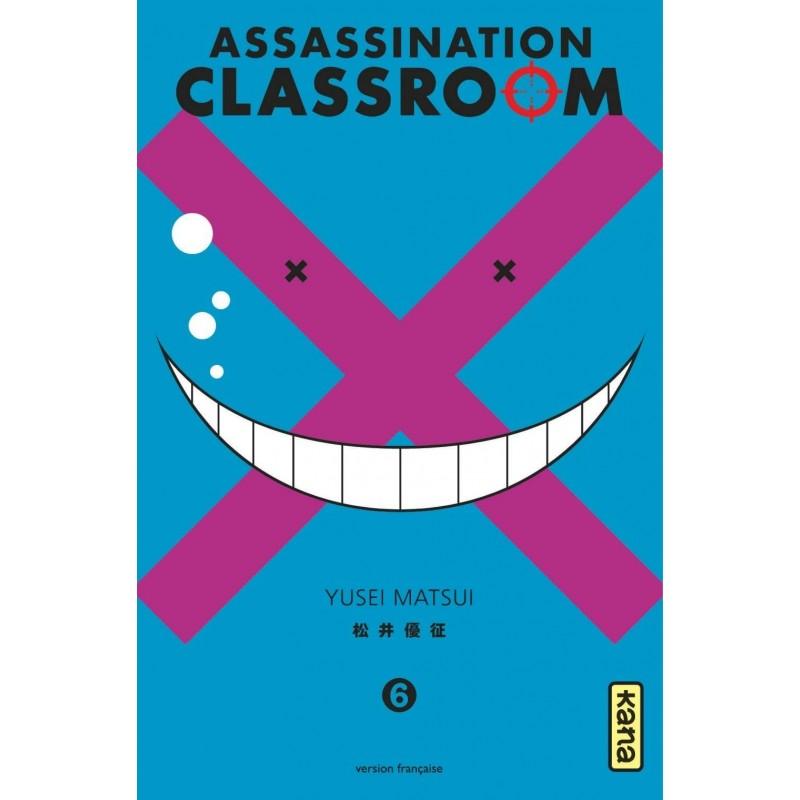 ASSASSINATION CLASSROOM T06 - Manga au prix de 6,85€