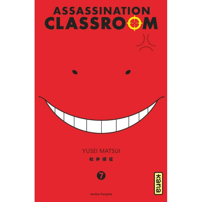 ASSASSINATION CLASSROOM T07 - Manga au prix de 6,85€