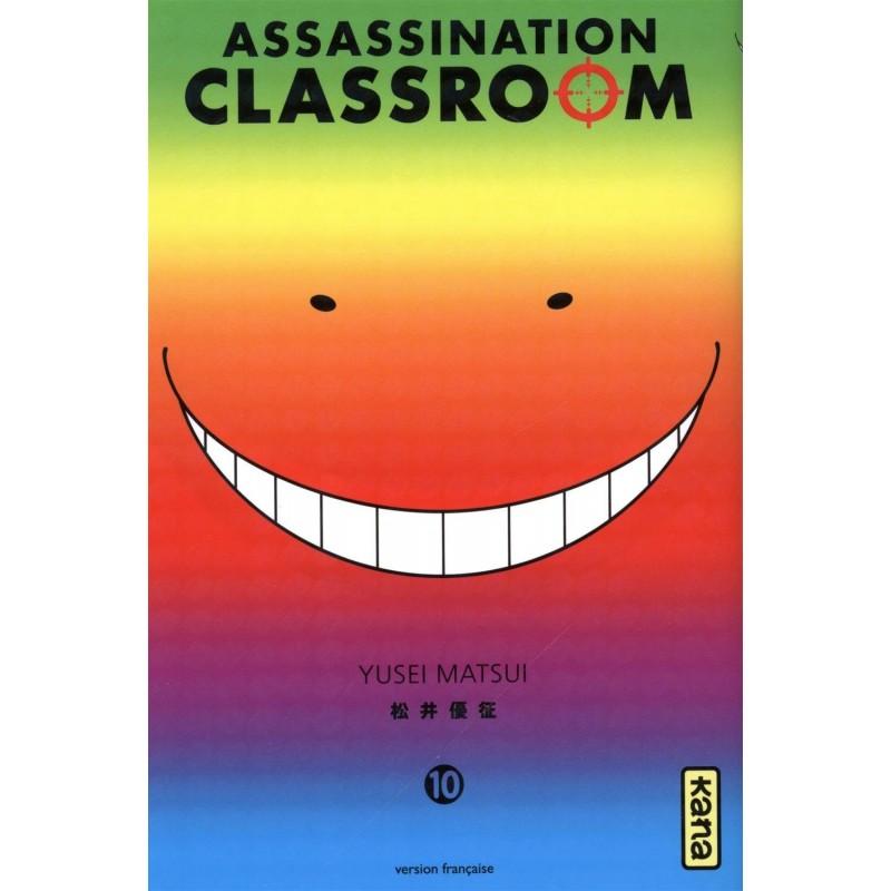 ASSASSINATION CLASSROOM T10 - Manga au prix de 6,85€