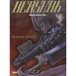 BERSERK ILLUSTRATIONS FILE - Manga au prix de 23,45 €