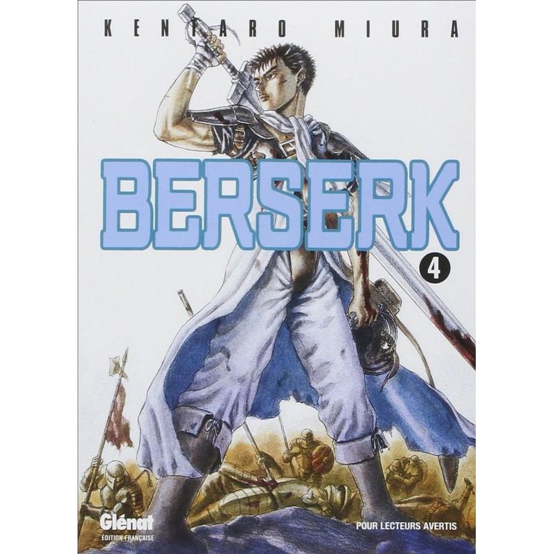 BERSERK T04 - Manga au prix de 6,90€