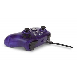 MANETTE FILAIRE SWITCH PURPLE FROST POWER A - Accessoires Switch au prix de 24,95 €