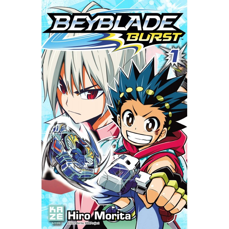 BEYBLADE BURST T01 - Manga au prix de 6,89€