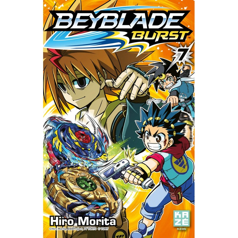 BEYBLADE BURST T07 - Manga au prix de 6,89€