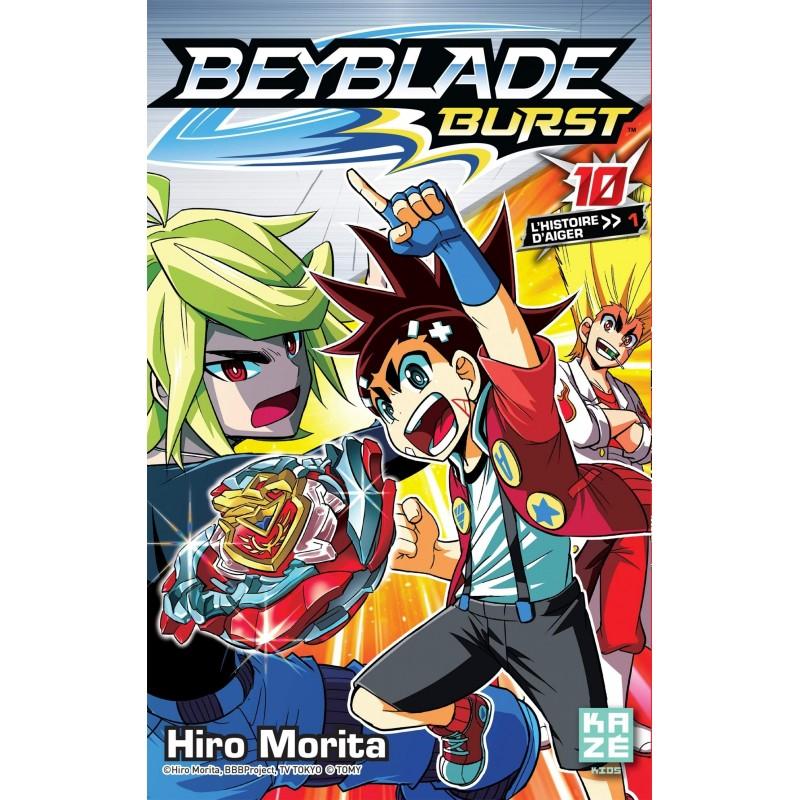 BEYBLADE BURST T10 - Manga au prix de 6,89€