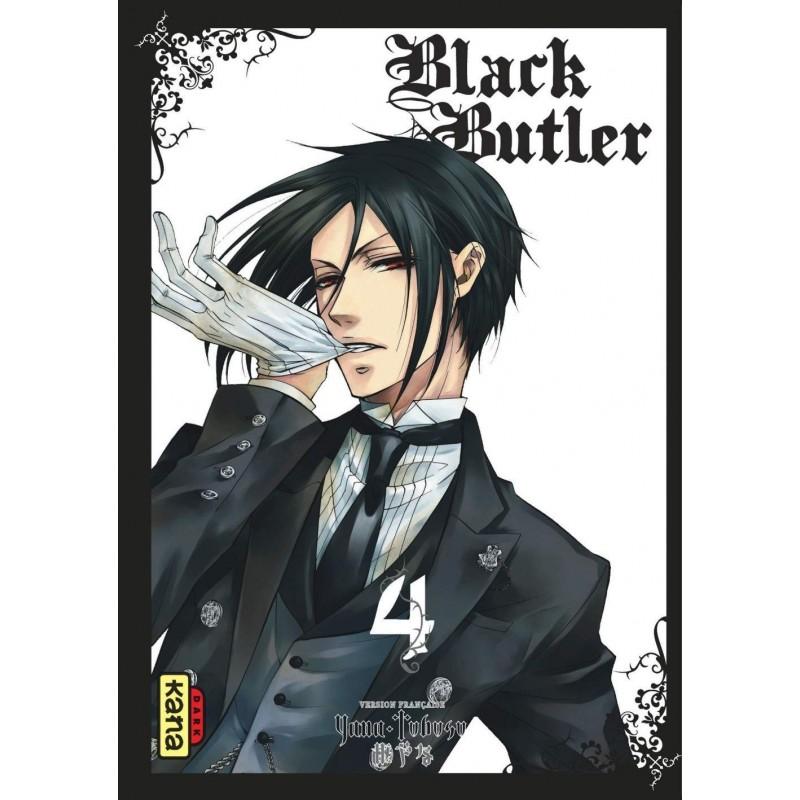 BLACK BUTLER T04 - Manga au prix de 6,85€