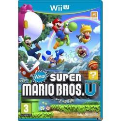 WIU NEW SUPER MARIO BROS. U - Jeux Wii U au prix de 14,95€