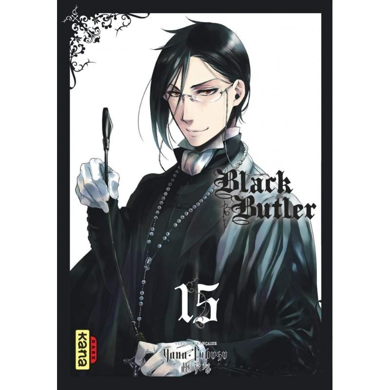BLACK BUTLER T15 - Manga au prix de 6,85€