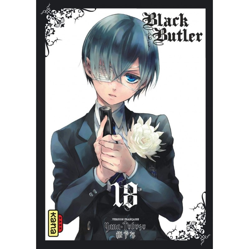 BLACK BUTLER T18 - Manga au prix de 6,85€