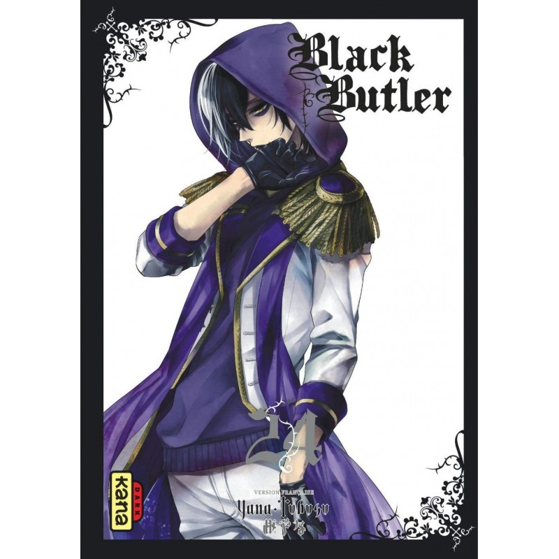 BLACK BUTLER T24 - Manga au prix de 6,85€