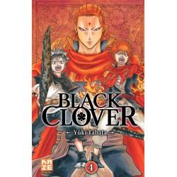 BLACK CLOVER T04 - Manga au prix de 6,89€