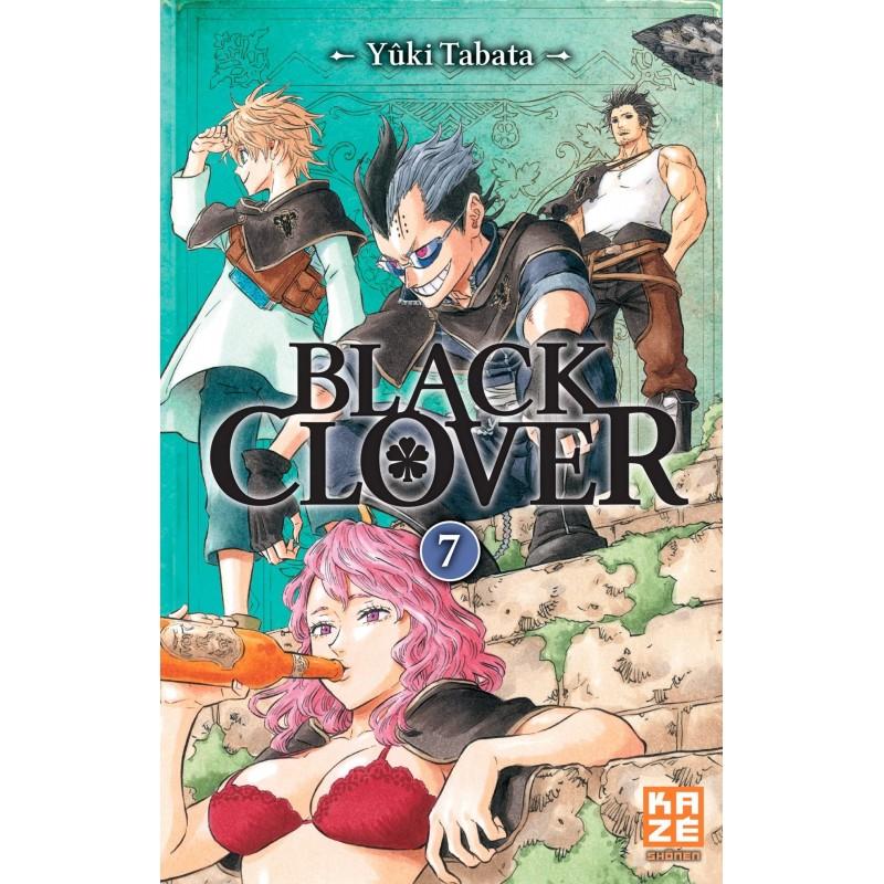 BLACK CLOVER T07 - Manga au prix de 6,89€
