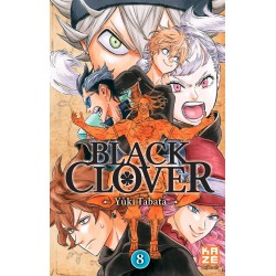 BLACK CLOVER T08 - Manga au prix de 6,89€