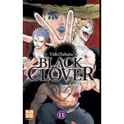 BLACK CLOVER T11 - Manga au prix de 6,89€