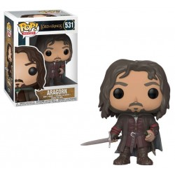 POP LORD OF THE RINGS 531 ARAGORN - Figurines POP au prix de 14,95 €