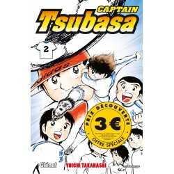 CAPTAIN TSUBASA T2 - Manga au prix de 3,00€