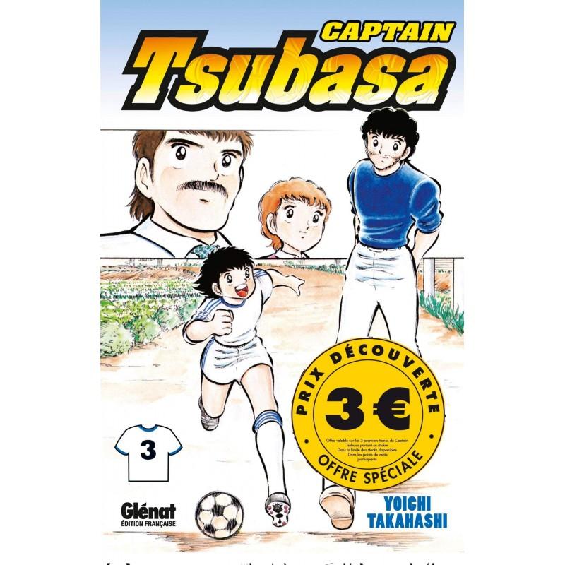 CAPTAIN TSUBASA T3 - Manga au prix de 3,00€