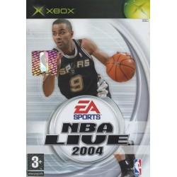 XB NBA LIVE 2004 - Jeux Xbox au prix de 1,95€